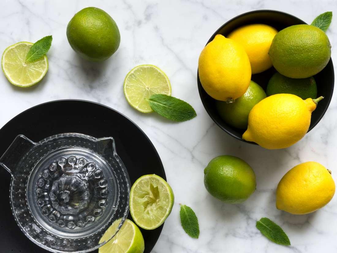 lemons contain
