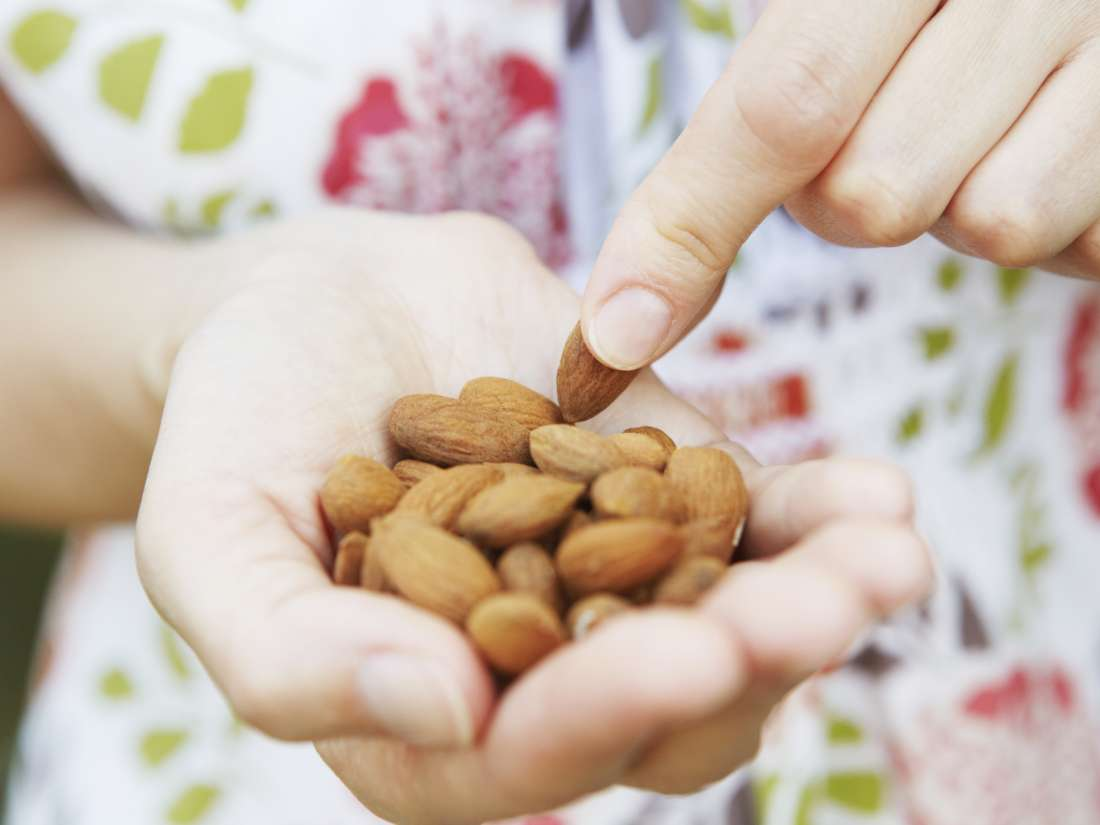Eating more nuts may help prevent weight gain