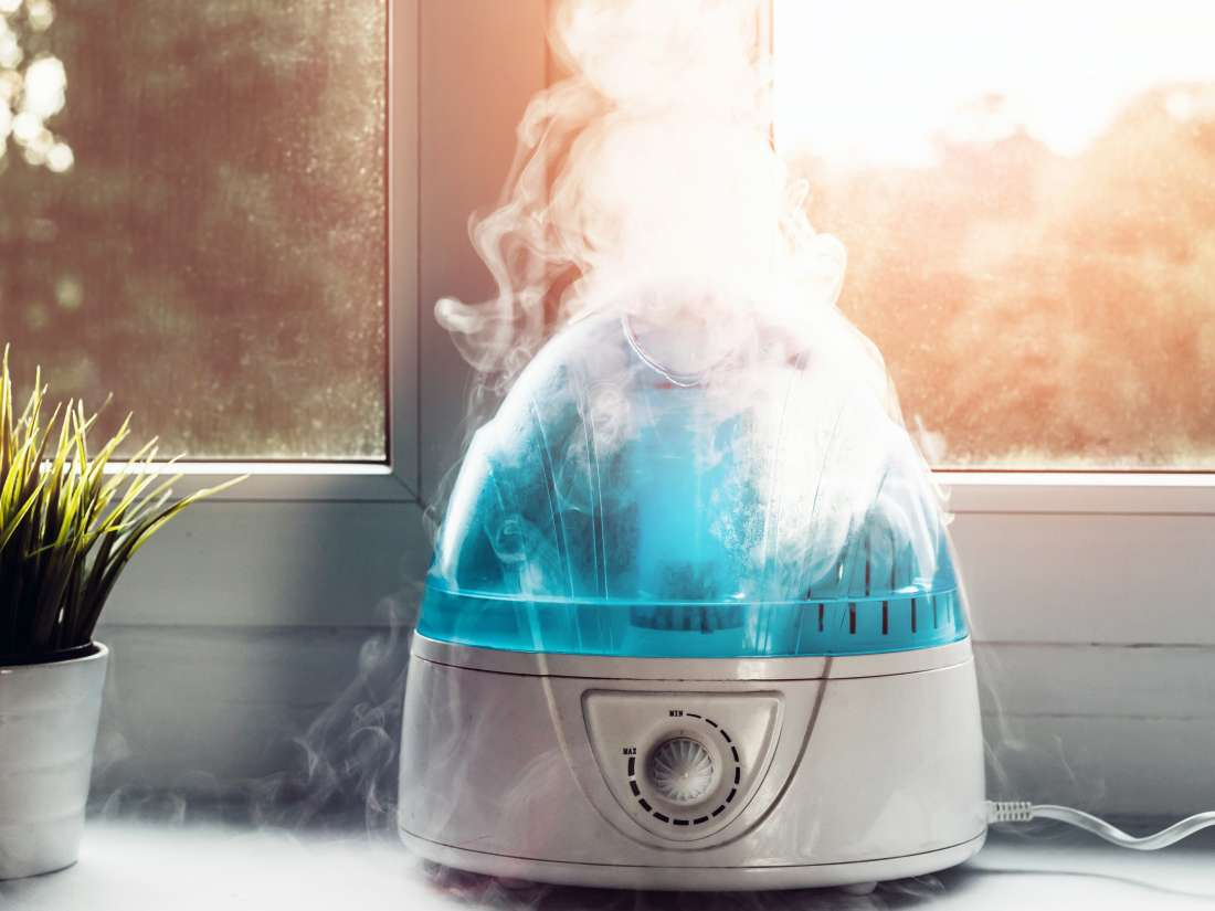 When should I use a humidifier vs. a vaporizer?