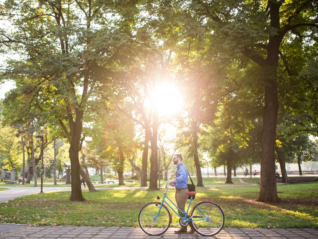 Green spaces in cities can help people live longer