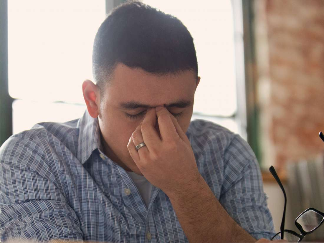 What can cause an afternoon headache?
